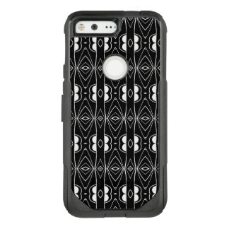 Black and White Design OtterBox Commuter Google Pixel Case