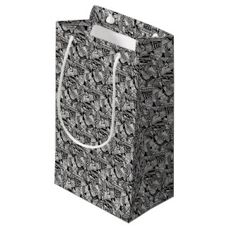 black-and-white-designs-5 small gift bag