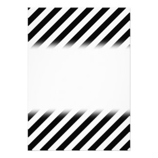 Black and White Diagonal Stripes. Announcements