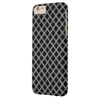Black and White Diamond Pattern Barely There iPhone 6 Plus Case