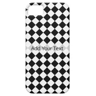 Black and White Diamond Pattern by Shirley Taylor iPhone 5 Cases