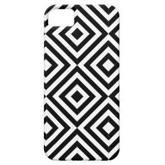 Black and White Diamond Shape Pattern Case For The iPhone 5