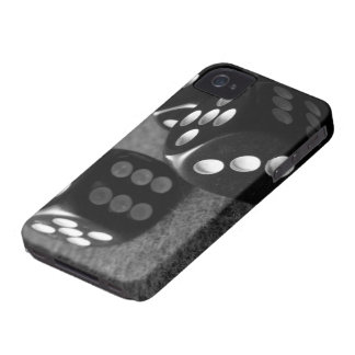 Black and White dice Iphone 4/4s case