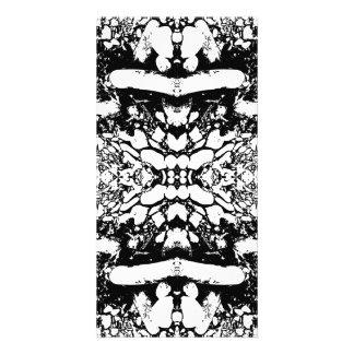 Black and White Digital Art Photo Greeting Card