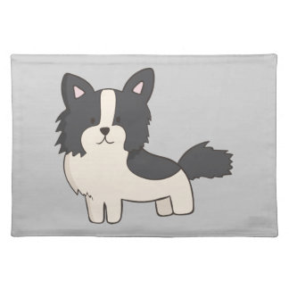 Black and White Dog Placemat