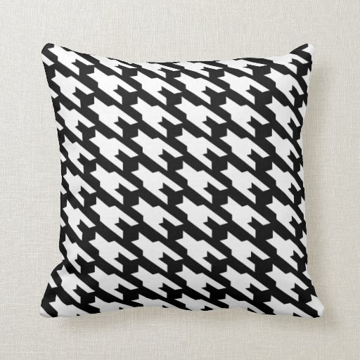 Black And White Dogtooth Zazzle