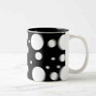 Black And White Dots Mug
