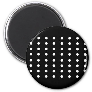 Black and white Dots / Vintage edition Magnet