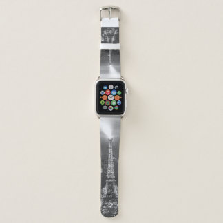 Black and White Effie Tower Apple Watch Band