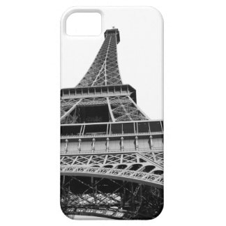 Black and White Eiffel Tower Barely There iPhone 5 Case