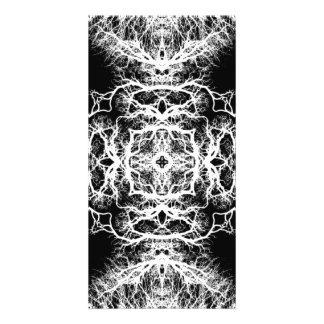Black and White Elegant Design. Photo Card Template