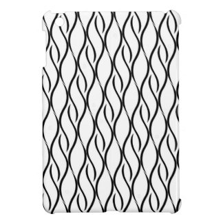Black and white elegant pattern iPad mini cases