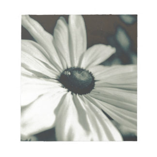 Black and White - Eyed Susan Notepad