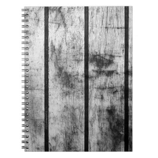 BLACK AND WHITE FENCE NOTEBOOKS