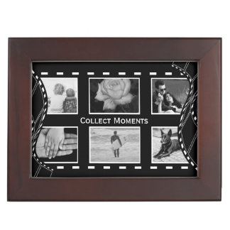 Black and White Film Reel Memory Box