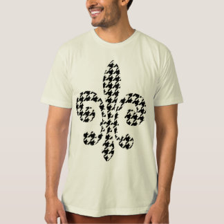 black and white fleur de lis T-Shirt