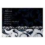 Black and White Floral - Business Cards