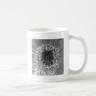 Black And White Floral Photography Coffee Mug