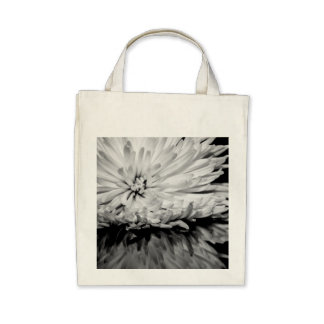 Black and White Flower Photo Bags