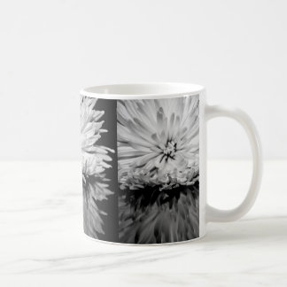 Black and White Flower Photo Coffee Mug