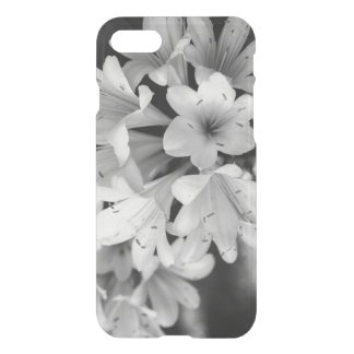 Black and White Flowers, Floral Photograph iPhone 7 Case