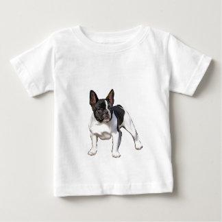 BLACK AND WHITE FRENCH BULLDOG BABY T-Shirt