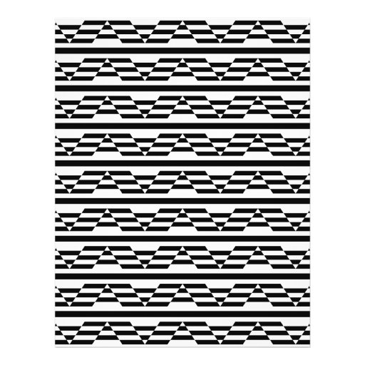 Black and White Geometric Graphic Pattern. Flyers