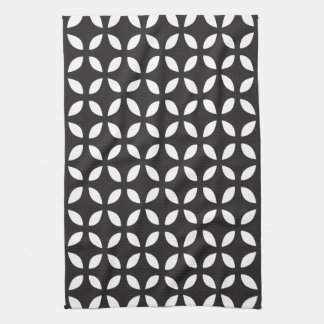 Black and White Geometric Kitchen Towels