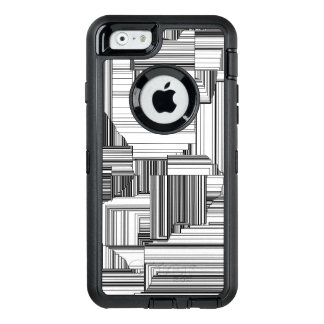Black and White  Geometric OtterBox iPhone 6/6s Case