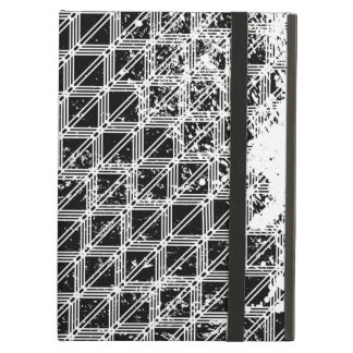 Black And White Geometric Pattern iPad Air Cases