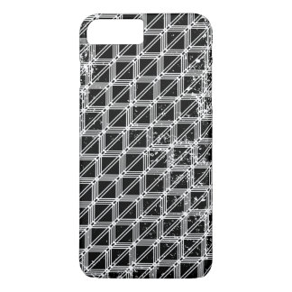 Black And White Geometric Pattern iPhone 8 Plus/7 Plus Case