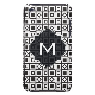 Black and white geometrics barely there iPod case