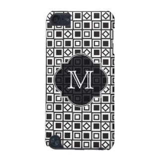Black and white geometrics iPod touch (5th generation) case