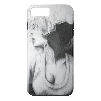 black and white girl iPhone 8 plus/7 plus case