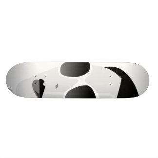 black and white girl with shades 19.7 cm skateboard deck
