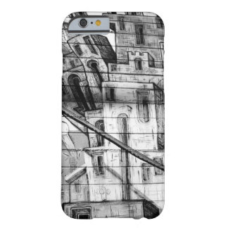 Black and White Graffiti in San Francisco Barely There iPhone 6 Case