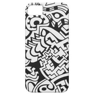 Black and white graffiti street art barely there iPhone 5 case