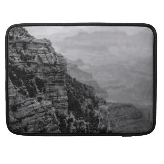 Black and White Grand Canyon Macbook Pro Sleeve