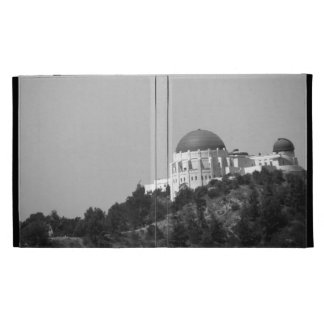 Black And White Griffith Observatory iPad Cases