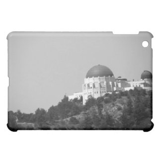 Black And White Griffith Observatory iPad Mini Covers