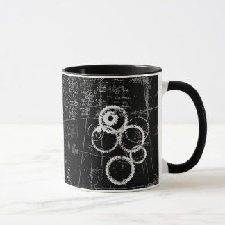 Black and White Grunge Combo Mug