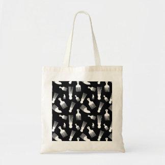 Black and white hair fashion bags