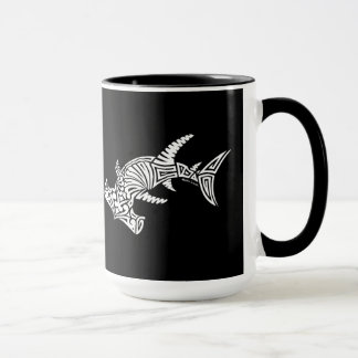 Black and White Hammerhead Mug
