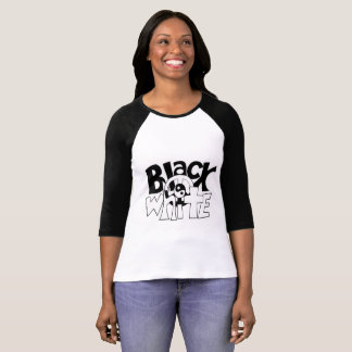 Black and White Harmony T-Shirt