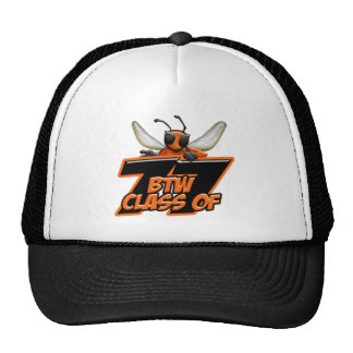 Black and White Hat with Logo