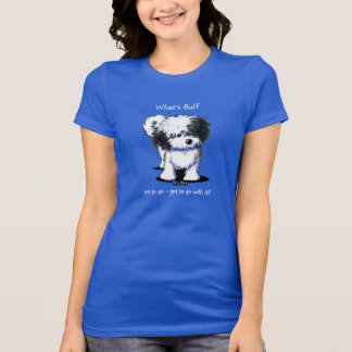 Black and White Havanese T-Shirt