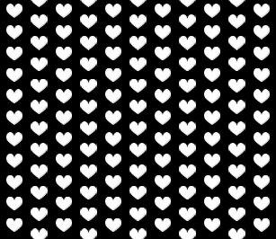 19941e987370f Women's Black White Pattern Heart Leggings & Tights | Zazzle AU