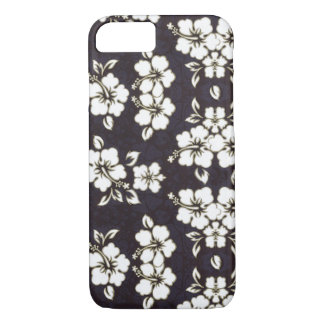 Black and White Hibiscus iPhone 7 case Barely Case