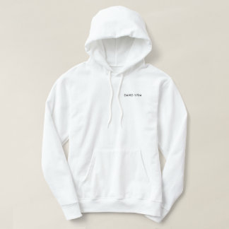 Black and white hoddy hoodie