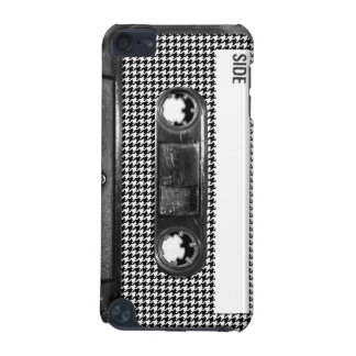 Black and White Houndstooth Cassette iPod Touch (5th Generation) Case